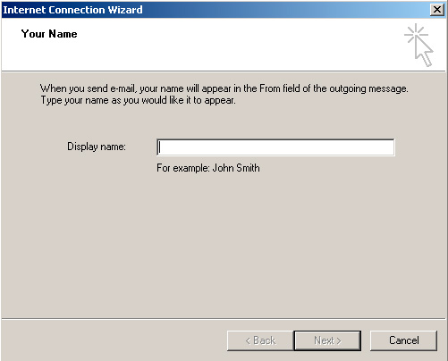 Microsoft Outlook Express - Display Name