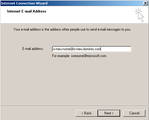 Microsoft Outlook Express - Email Address